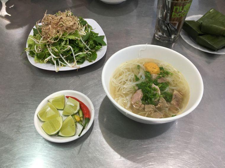 Bun Bo Suppe in Hue, Vietnam.