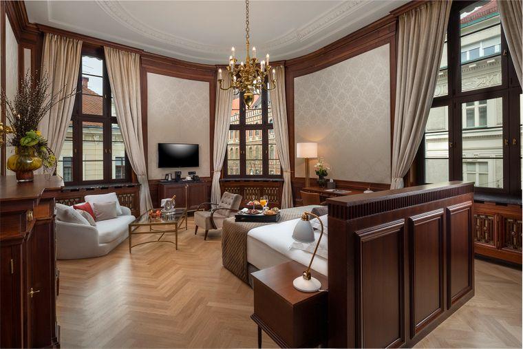 Die Suite im Amadria Park Hotel Capital Zagreb.