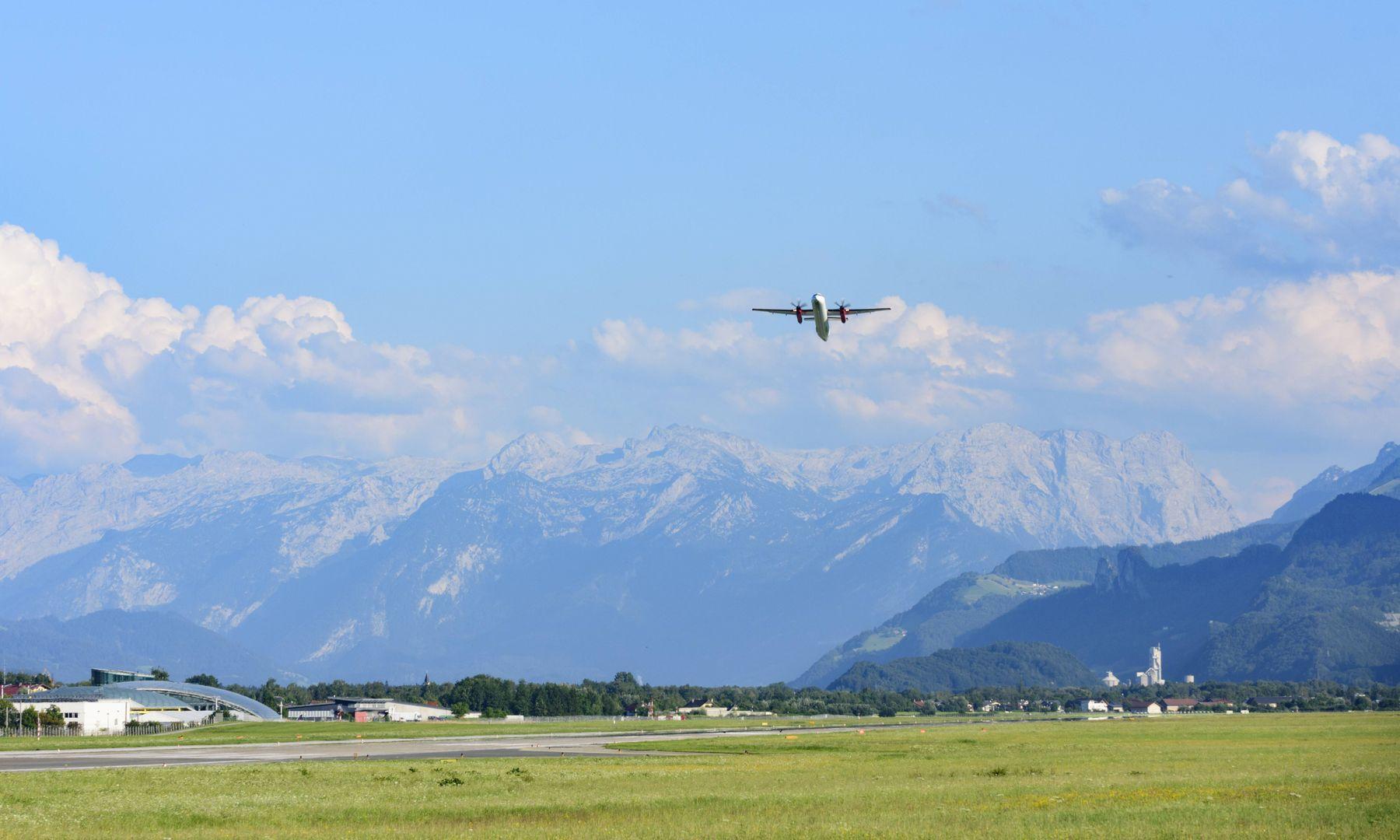 Flug Salzburg Frankfurt