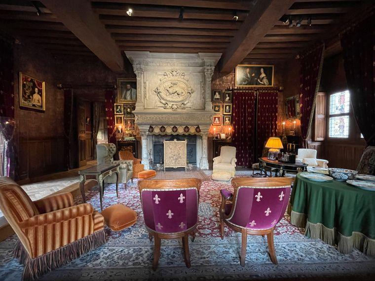 Die einstigen Besitzer des Château d'Azay-le-Rideau waren Kunstsammler und nannten mehr als 300 Gemälde ihr Eigen.