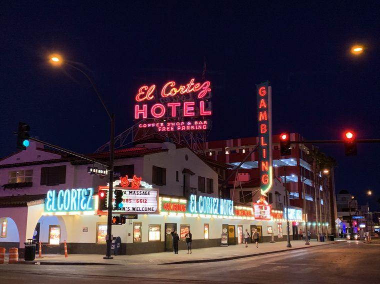 Oldie, but Goldie: Das alte Las Vegas Downtown.
