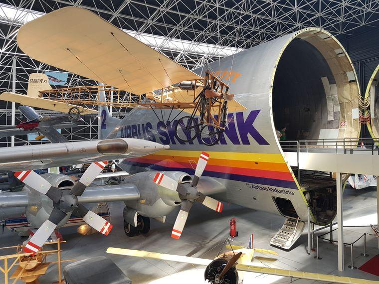 Im Museum Aeroscopia in Toulouse bekommen Besucher einen interessanten Einblick in die Welt der Luftfahrt.
