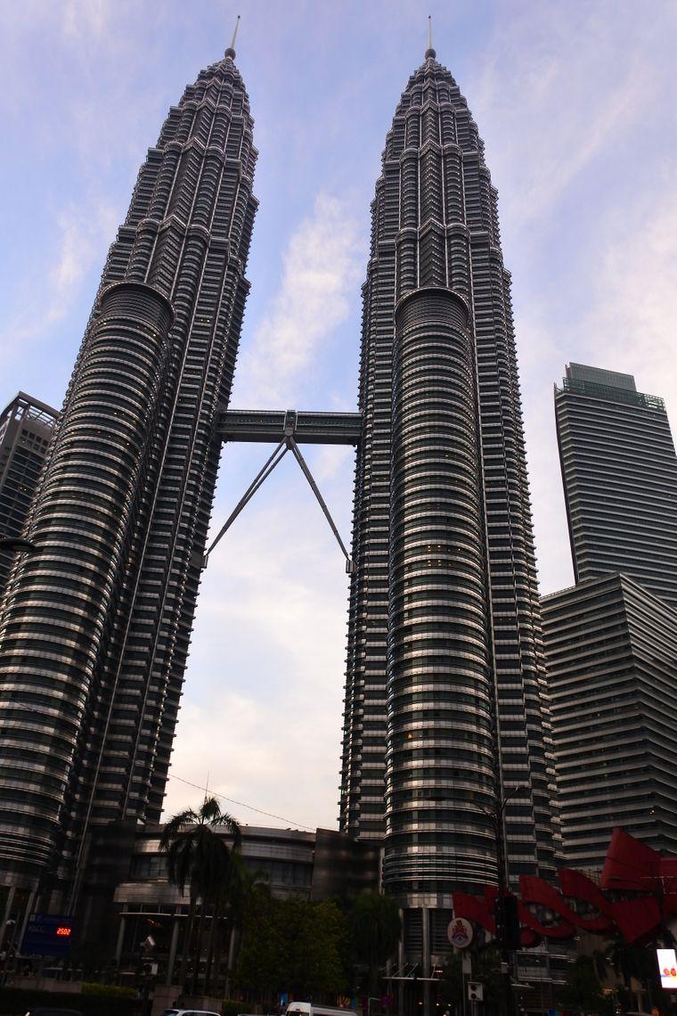 Ein bisschen Sightseeing muss sein: Kuala Lumpur.