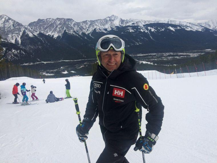 Jan Sekerak ist der Area-Manager in Nakiska.