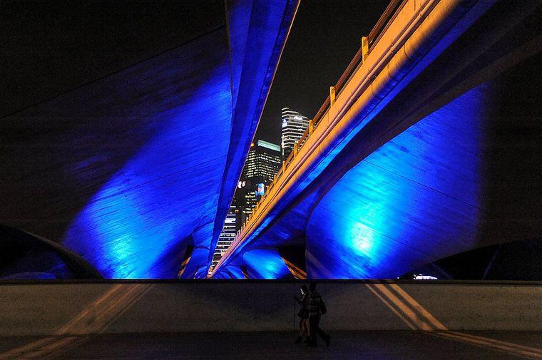 Die Magie der Blauen Brücke