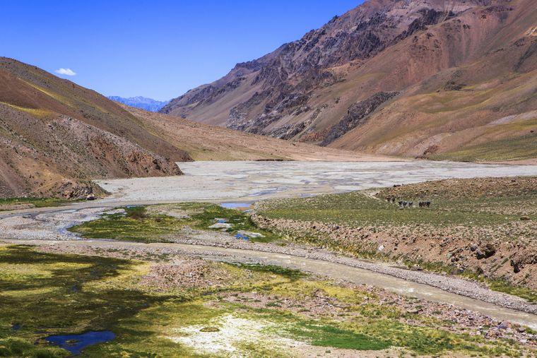 Das Ahmegino Valley ist eins der beiden Basiscamps auf dem Weg zum Plaza Argentina.
