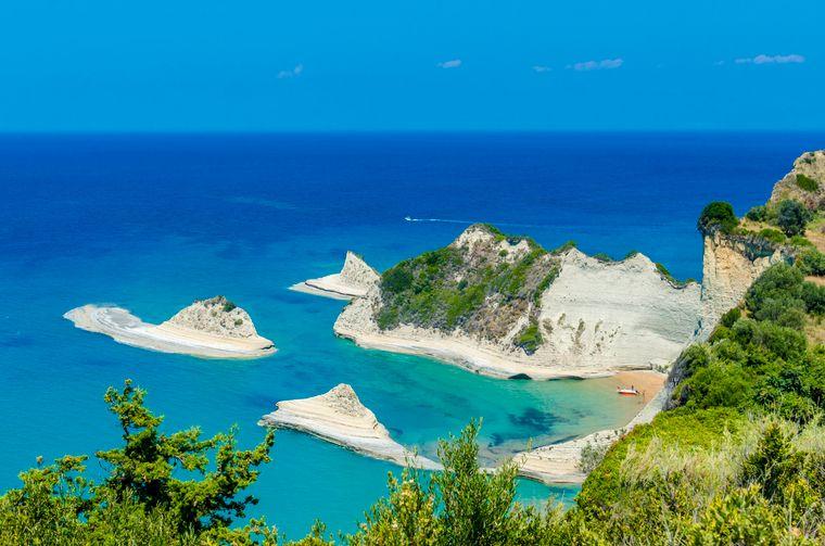 Eine von Griechenlands zahlreichen Inseln – insgesamt sind es über 3000.