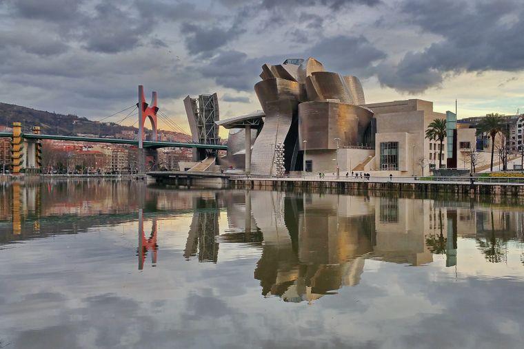 Das Guggenheim-Museum in Bilbao