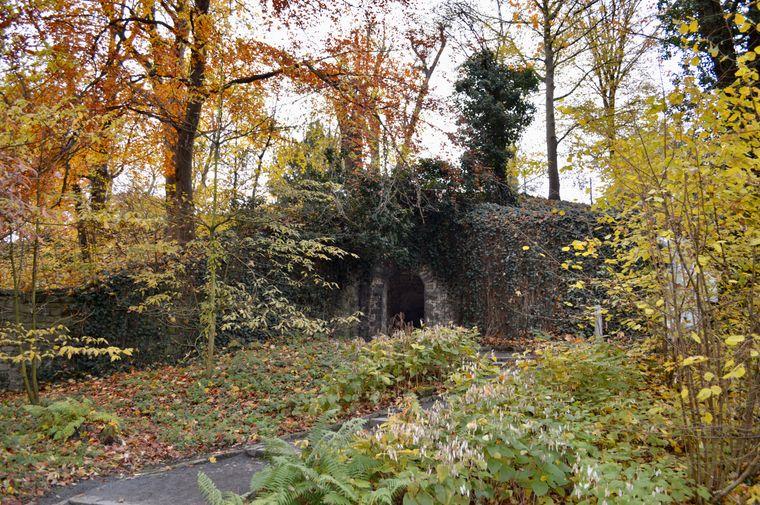 Der Alte Botanische Garten in Göttingen.