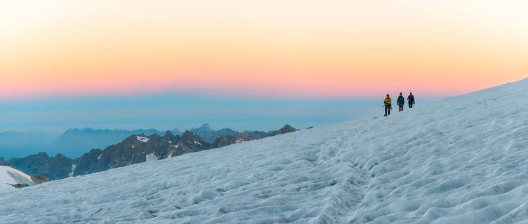 Mont Blanc, Frankreich.