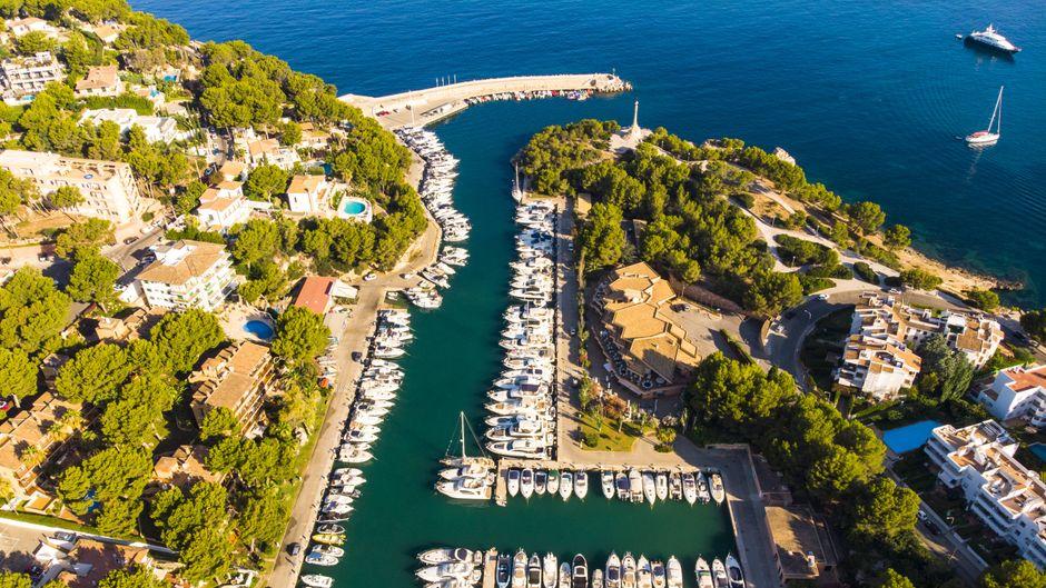Du suchst Abwechslung vom Sonnenbaden? Dann unternimm doch ein wenig Sightseeing – und verpass dabei auf keinen Fall den Yachthafen von Santa Ponsa!