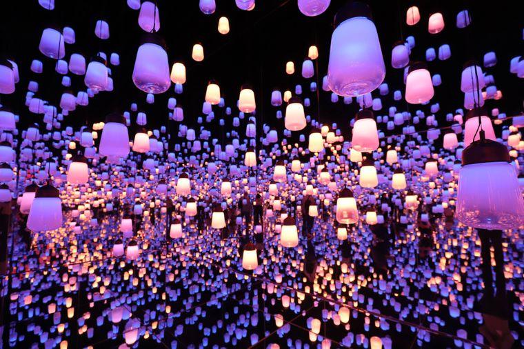 Über 1 Millionen Besucher gab es beim Digital Art Museum in den ersten fünf Monaten.