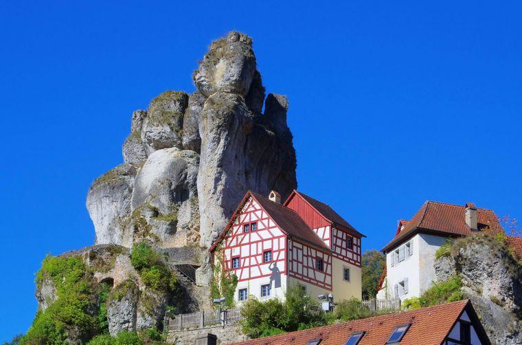 Tüchersfeld gibt es wirklich, und zwar in der Fränkischen Schweiz.