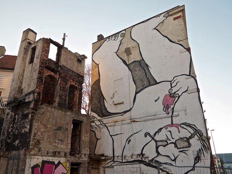 Bei einer Street-Art-Tour in Stavanger gibt es viel Kunst zu entdecken.