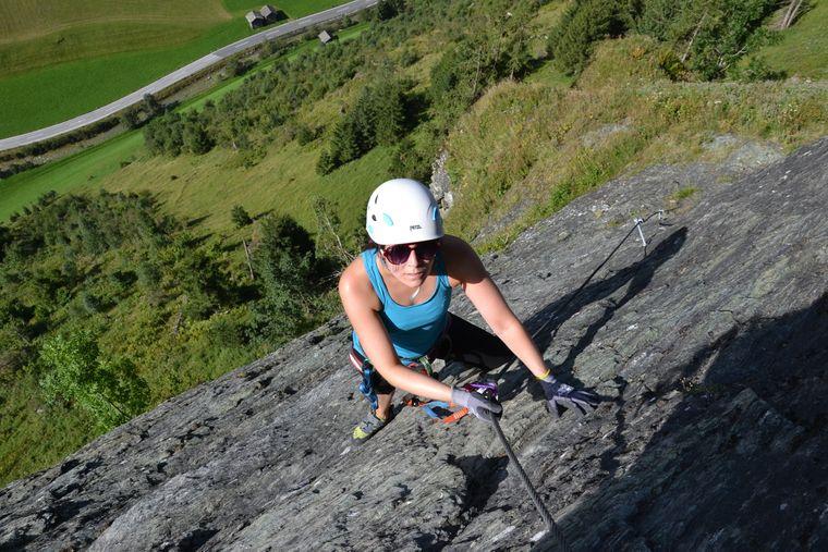 Im Großarltal gibt es Klettermöglichkeiten für Anfänger und Fortgeschrittene.