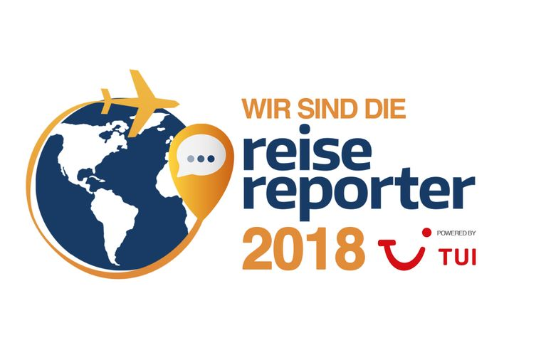 """Wir sind die """"reisereporter 2018""""."""