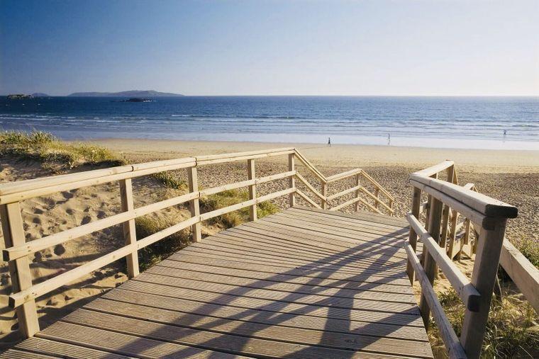 Den Strand Praia da Lanzada findest du in Galizien.