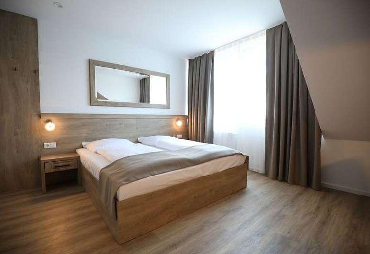 Die Zimmer des Sleep Inn.