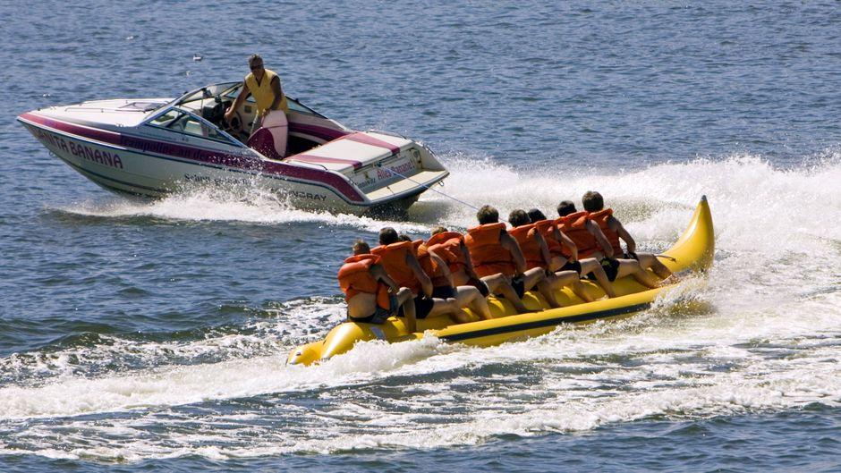 Eine britische Touristen starb Hurghada, nachdem sie von einem Bananenboot gestürzt war. (Symbolfoto)