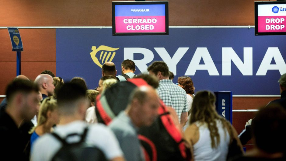 Im April vielen die Flüge vieler Ryanair-Fluggäste aus, weil die Flugbegleiter streikten.