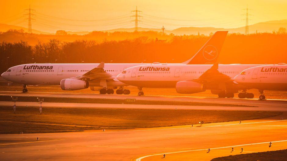 Die Regierung übernimmt 20 Prozent der Lufthansa.