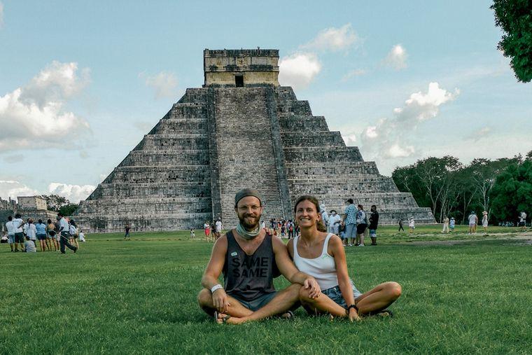 Nicole und Tim sind nach ihrer Reise im Camper durch Europa nach Mexiko geflogen.