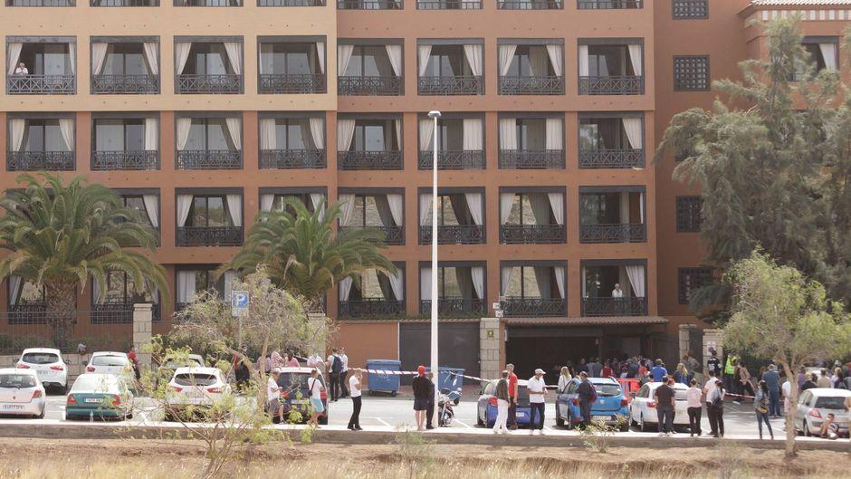 Das Hotel in Adeje auf Teneriffa steht unter Quarantände, nachdem ein Gast positiv auf das Coronavirus getestet wurde.