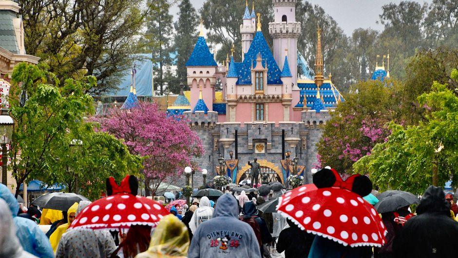 Anaheim, Kalifornien, USA: Disneyland in Anaheim.