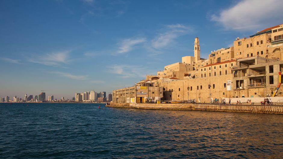 Tel Avivs Altstadt Jaffa grenzt direkt ans Meer. Sie ist inzwischen eines der hipsten Viertel der israelischen Stadt.