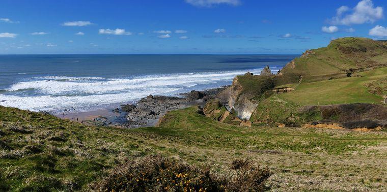Penzance liegt an der Südwestspitze Englands.