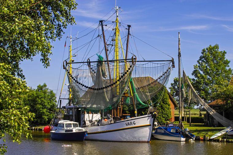 Der Vareler Hafen erzählt die Geschichte der sturen Ostfriesen.