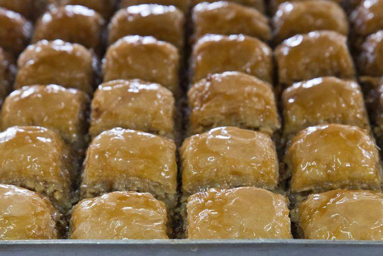 Baklava ist die beliebteste Nachspeise in der Türkei.