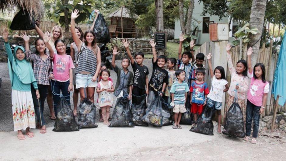 Die Deutsche Elisa Bracht unterstützt Kinder auf der Insel Lombok mit einer Stiftung bei der Schulausbildung. Reisereporterin Leo hat sie besucht.