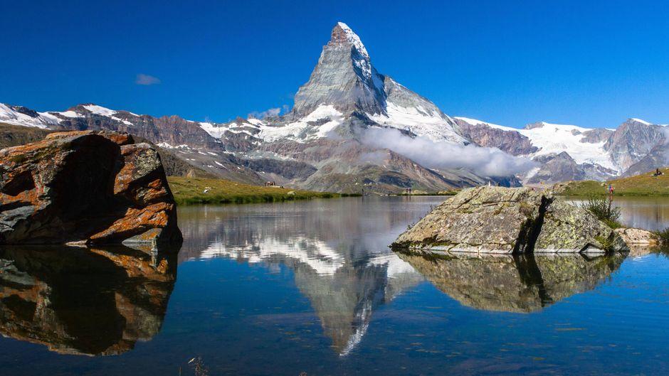 Das Matterhorn hat die meisten Hashtags bei Instagram.
