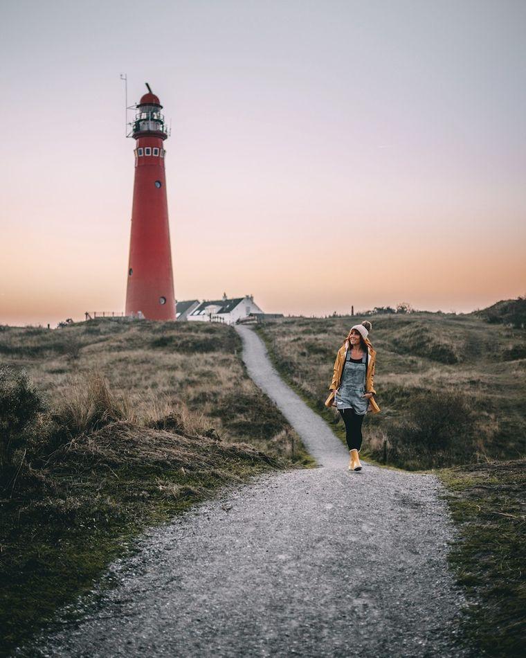 Julia auf der holländischen Insel Schiermonnikoog.)
