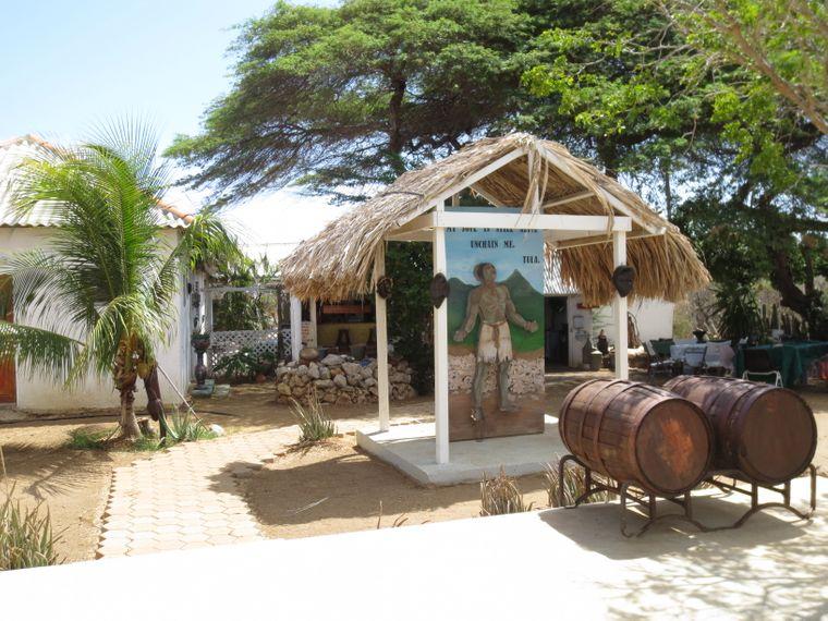 Im Kas-di-Pali-Maishi-Museum erfährst du vieles über die Geschichte Curaçaos.