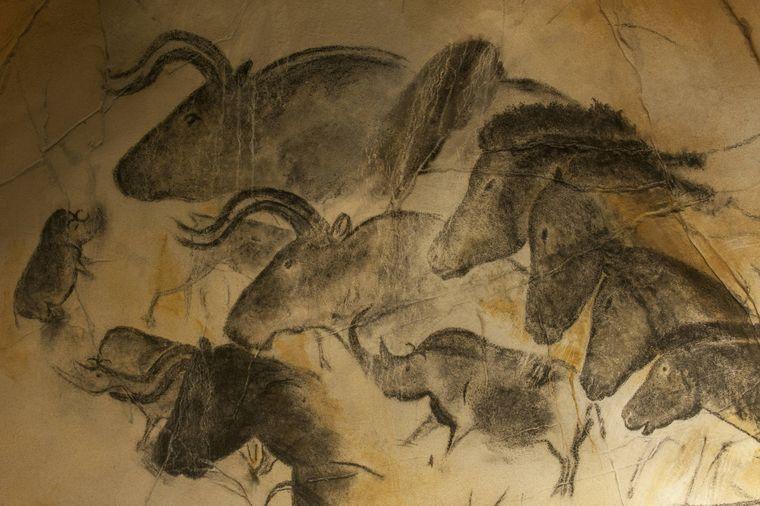 Die Originale in der Chauvet-Höhle sind einfach zu empfindlich, um sie Besuchern zu zeigen.