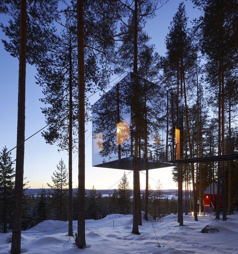 Treehotel in Schweden.
