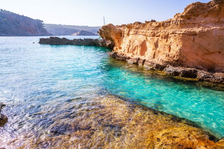 Strand Cala Xarraca, Ibiza