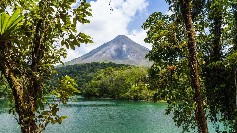 Vulkan in Costa Rica.