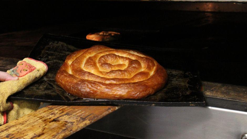 Süß und etwas fettiger: Ensaimadas gibt es nur auf Mallorca.