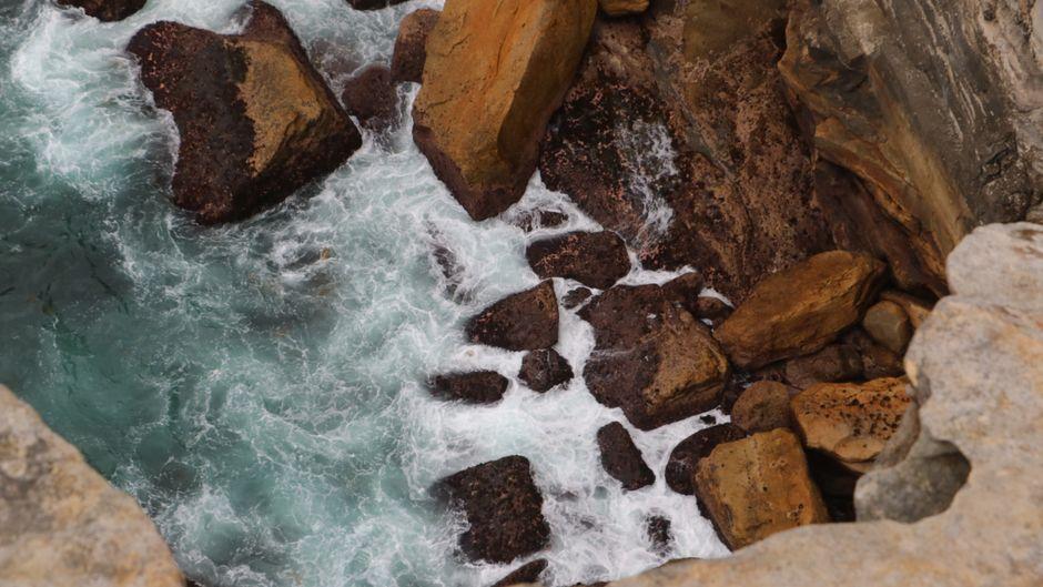 Blick von einer Klippe im australischen Vauclause.