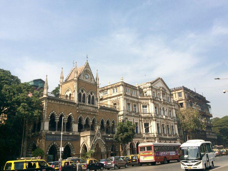 Sassoon Library auf der Mahatma Gandhi Road.