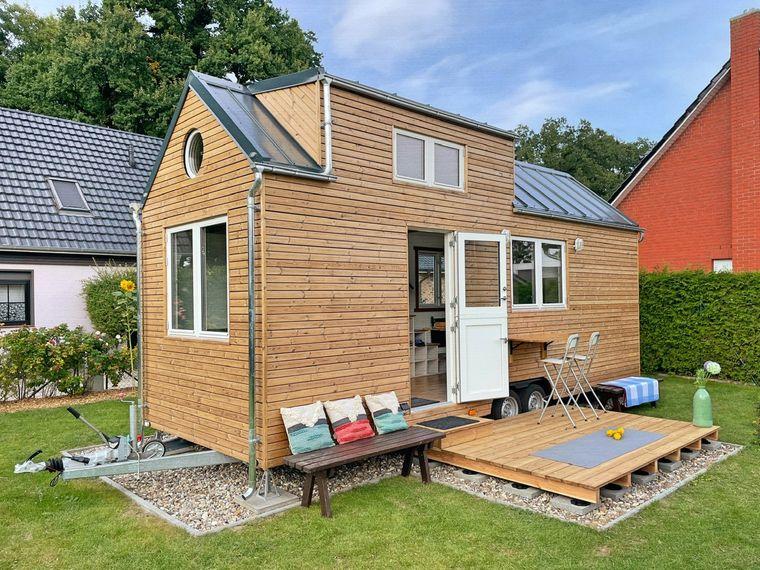 Erst seit September 2021 steht das Tiny House am Fleesensee für Urlaubende bereit.