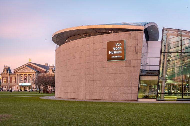 Van Gogh Museum in Amsterdam, Niederlande.