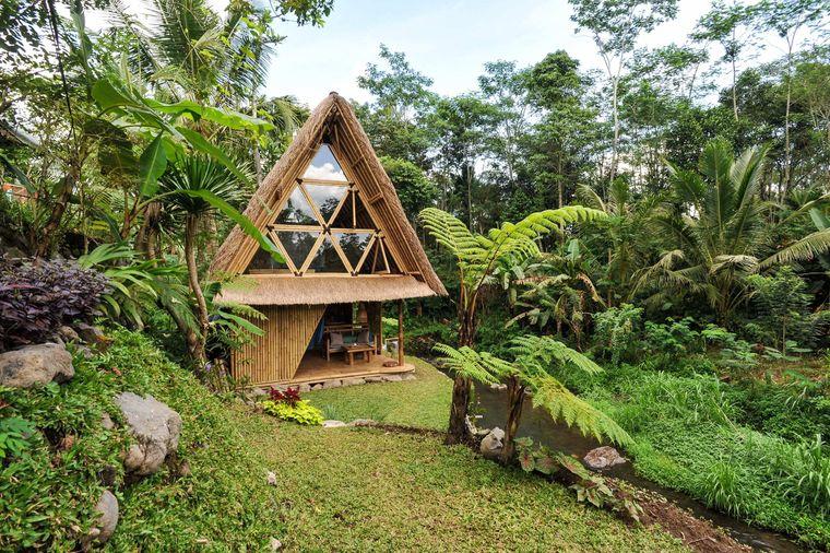 Das Ökoversteck auf Bali ist für Monate im Voraus ausgebucht.