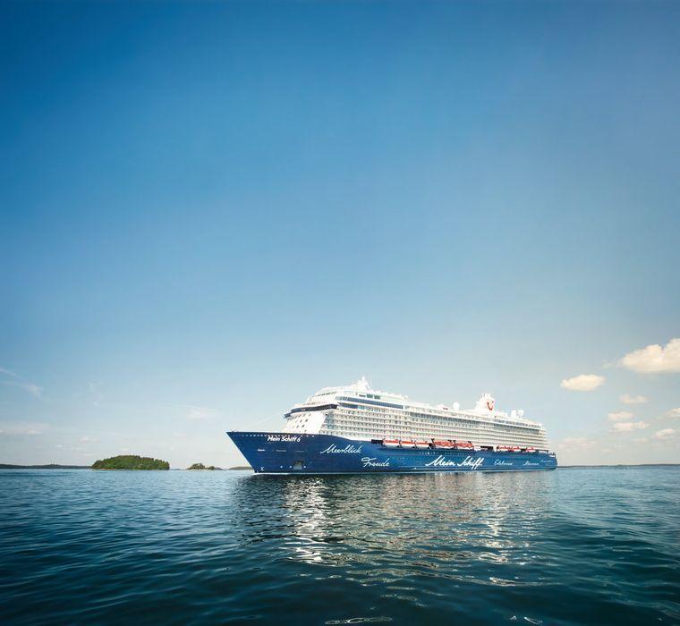 """Die """"Mein Schiff 6"""" ist der vierte Neubau von TUI Cruises."""