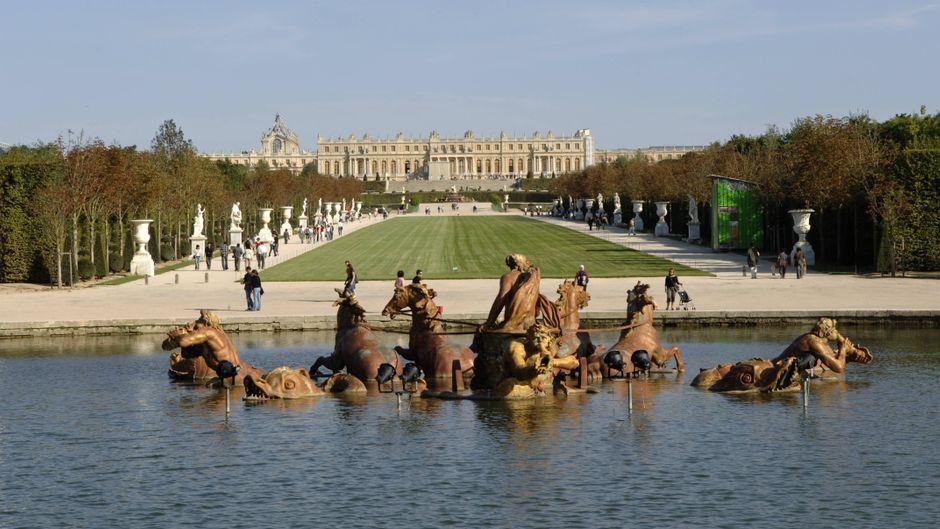Erstmals startet am Schloss Versailles ein Elektro-Musik-Festival.
