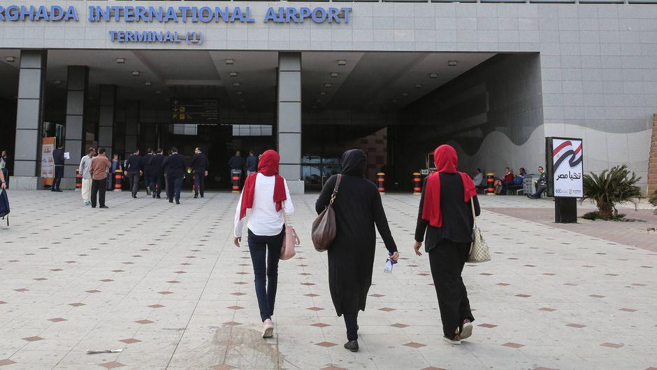 Ein Brite wurde in Ägypten wegen sexueller Belästigung festgenommen.