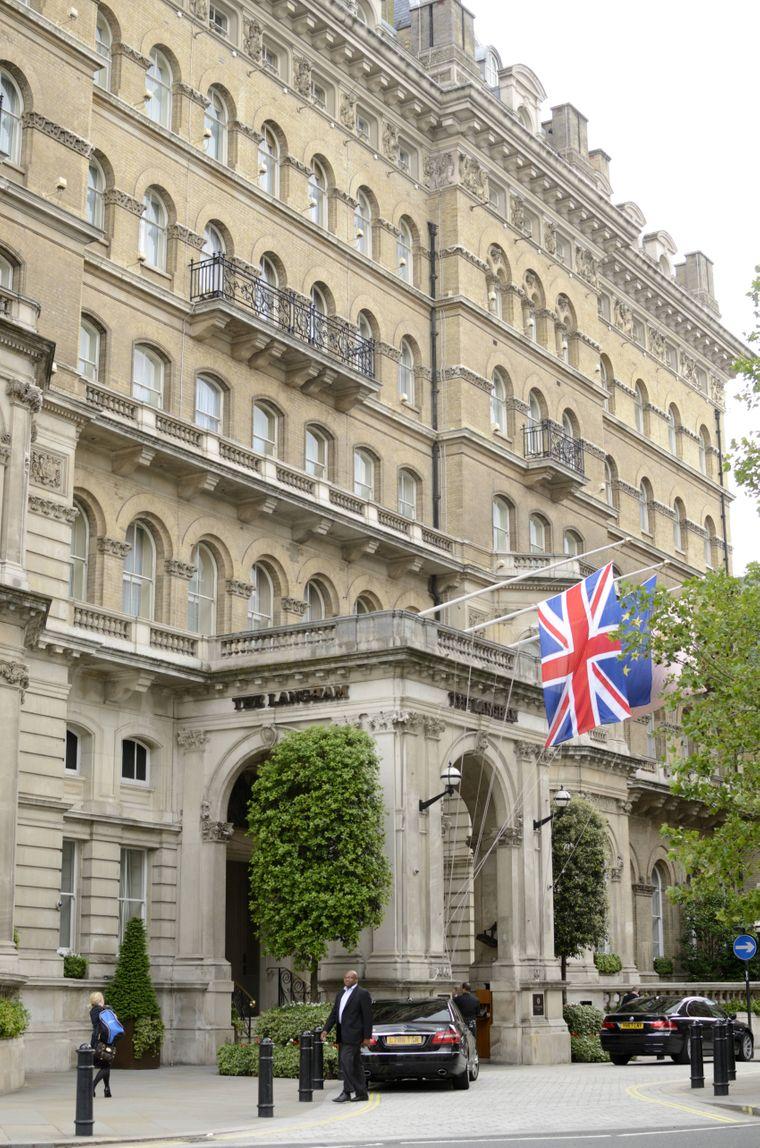 Das Langham Hotel in Portland Place hat eine schaurige Geschichte.